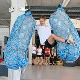 Seine athletische Klasse hat Beda Klee auch im Update Münchwilen auf dem «Gladiator-Parcours» bewiesen. (Bild: Urs Huwyler)