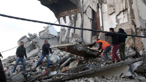 23 Tote bei schwerstem Erdbeben in Albanien seit Jahrzehnten
