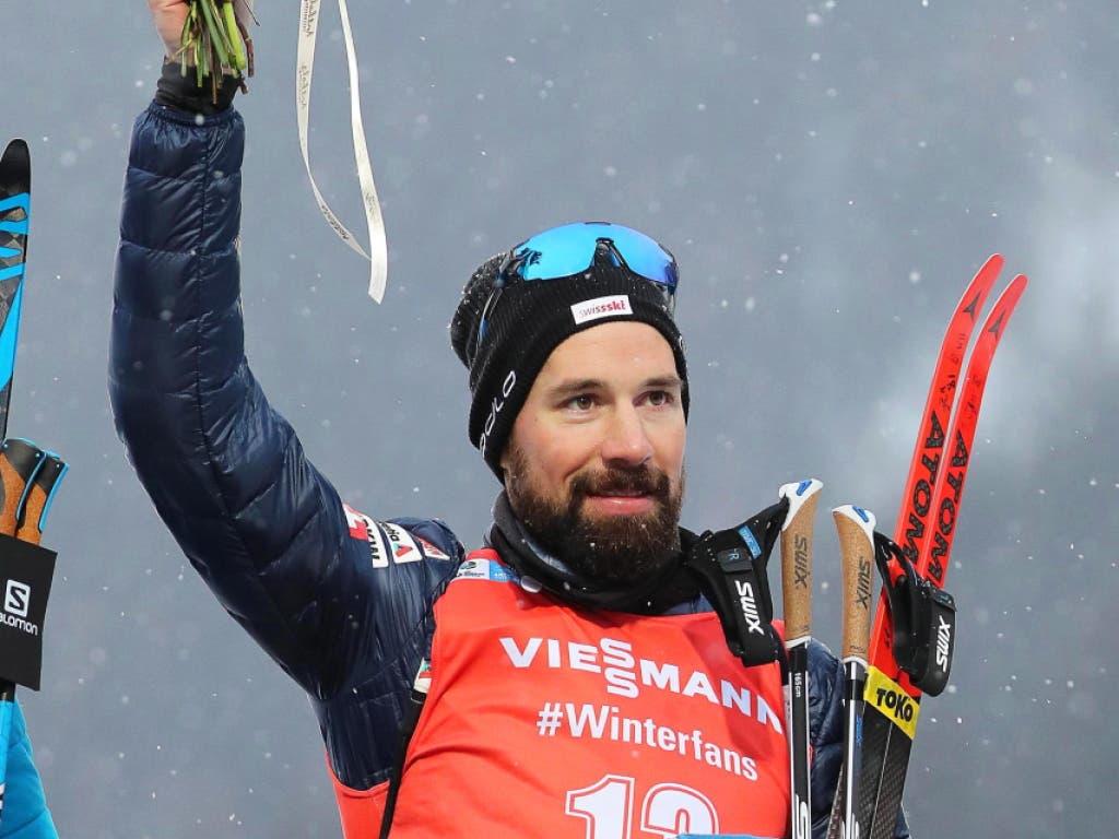 Schöne Erinnerung: Im Januar belegte Weger im nächsten WM-Ort Antholz den starken 6. Platz im Massenstart-Rennen (Bild: KEYSTONE/EPA ANSA/ANDREA SOLERO)