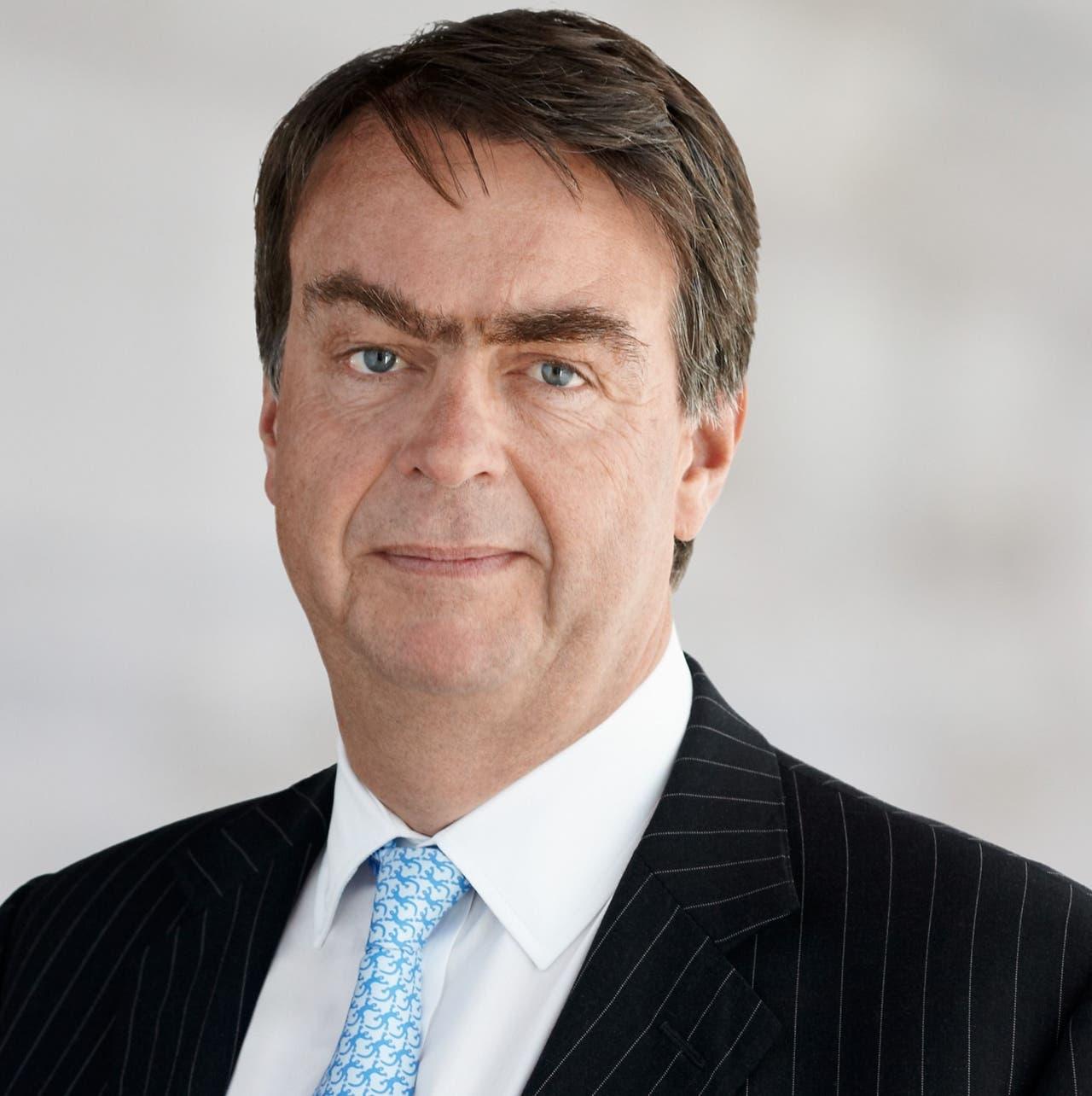 2. Platz: André Hoffmann mit Familien Hoffmann und Oeri sitzen mit der Pharma-Firma Roche auf 27,5 Milliarden Franken.