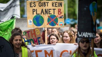 Grenzüberschreitende Klimademo am Samstag, 11. Mai 2019, in Kreuzlingen-Konstanz. (Bild: Reto Martin)