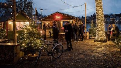 «Rudolf» sorgt für Stimmung auf dem Luzerner Inseli