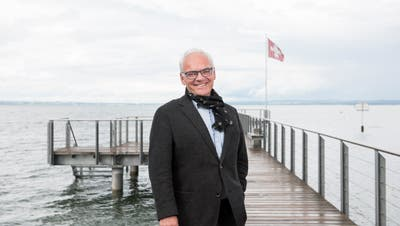 Gemeindepräsident Stephan Tobler informierte im Hinblick auf die Gemeindeversammlung vom 5. Dezember. (Mareycke Frehner)
