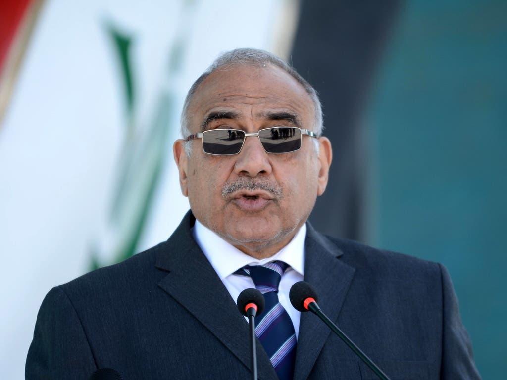 Angesichts der massiven Proteste im Land hat der irakische Präsident Adel Abdel Mahdi seinen Rücktritt angekündigt.