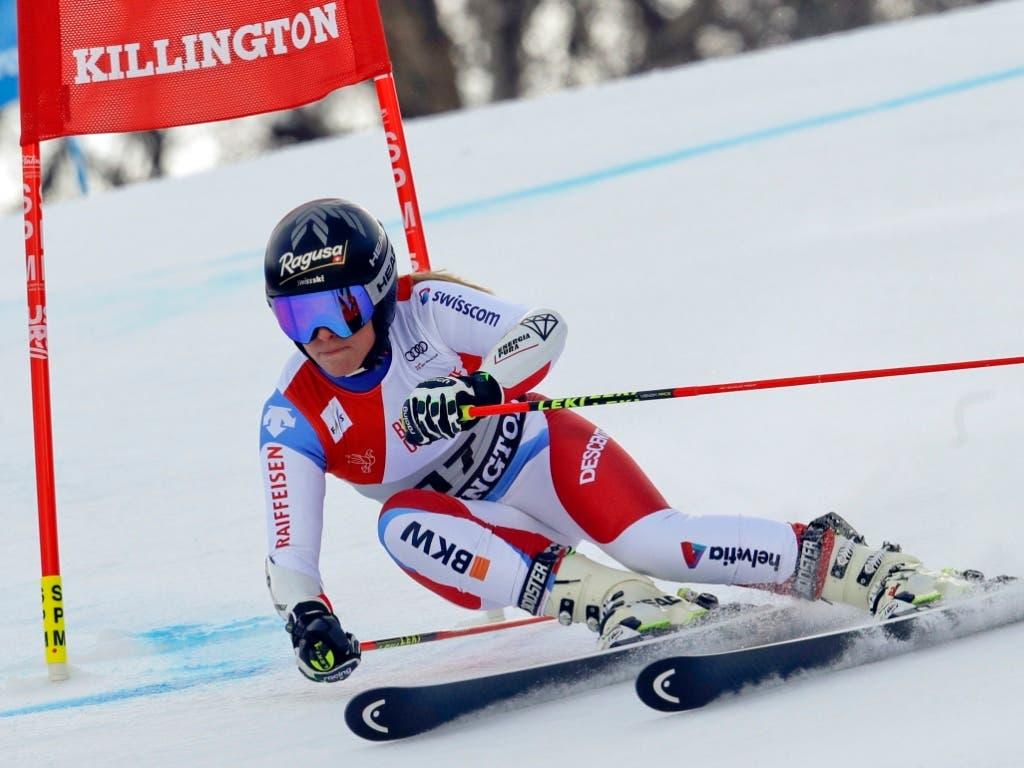 Nur knapp in den Top 20 in Killington: Lara Gut-Behrami