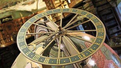 Eine Replik des St.Galler Globus steht in der Stiftsbibliothek. (Bild: PD)