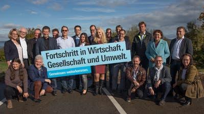 Sämtliche Kandidatinnen und Kandidaten der FDP des Bezirks Kreuzlingen. (Bild: PD)