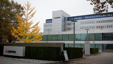 Das Crypto-Areal in Steinhausen soll weiterentwickelt werden. (Bild: Maria Schmid, 31. Oktober 2019)