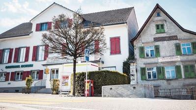 Der Roggwiler Gemeinderat überlegt, das Gasthaus «Ochsen» zu kaufen. (Bild: Andrea Stalder)