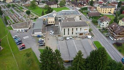 Das heutigeEWO-Verwaltungsgebäude in Kerns ist sanierungsbedürftig. (Bild: PD)