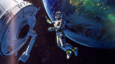 Bild aus dem Planetariumsfilm«Mission Erde»: Aufnahmen unseres Planeten werden mit computergesteuerten Effekten kombiniert. (Bild: PD)