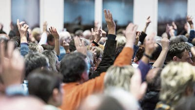 Bei den Wittenbacher Parteien herrscht (fast) Einheit über die Einheitsgemeinde