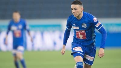 Aussenangreifer Ruben Vargas ist im Sommer 2019 vom FC Luzern zum FC Augsburg in die Bundesliga transferiert worden. (Bild: Boris Bürgisser, Luzerner Zeitung, 10. April 2019)