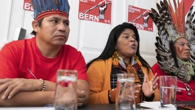 Brasiliens Indigene kämpfen gegen Freihandelsabkommen mit Schweiz