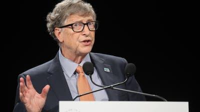 Der Microsoft-Gründer: Würde er Donald Trump wählen? (Bild: Keystone/EPA/ Ludovic Marin)