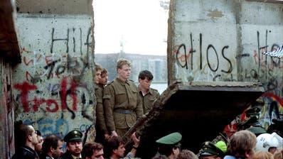 Vor 30 Jahren fiel die Berliner Mauer