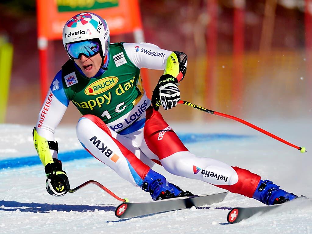 Marco Odermatt verlor als Siebenter 0,85 Sekunden auf Sieger Matthias Mayer