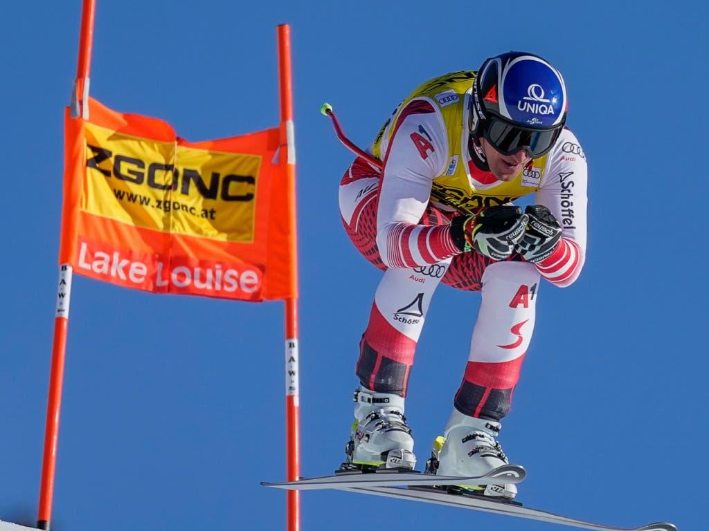 Matthias Mayer gewann den Super-G in Lake Louise und sorgte gleichzeitig für den ersten österreichischen Saisonsieg