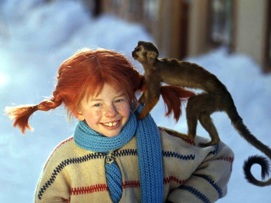 Liess sich wegen ihrer roten Haare nie zum Affen machen: Pippi Langstrumpf.