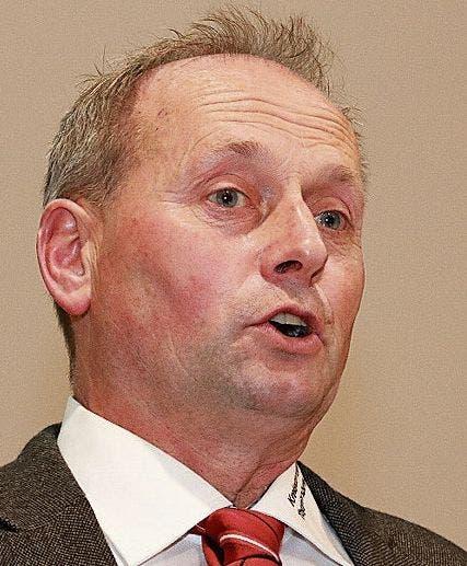 Präsident Stefan Harder, Kirchberg, sprach vor 153 Stimmberechtigten.