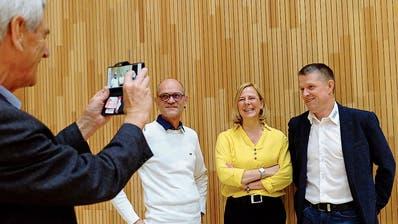 Die Gemeinde Kemmental begrüsst ihre künftige Präsidentin