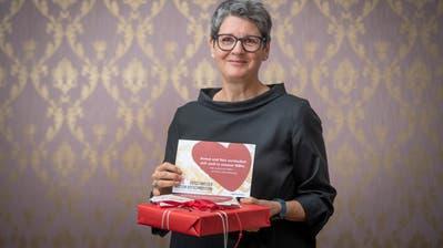 «Es bereitet mir Freude, wenn ich helfen kann»: Barbara Benz, OhO-Vereinspräsidentin (Bild: Urs Bucher/TAGBLATT)