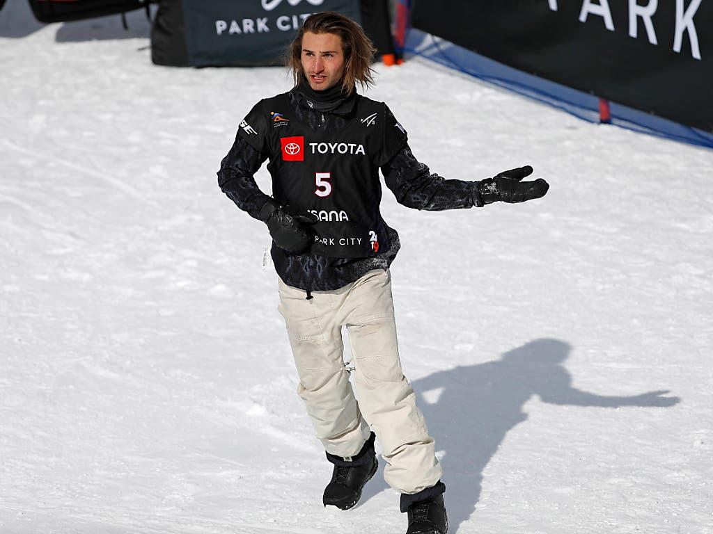 Snowboarder, Musiker, Showman: Pat Burgener unterhält das Publikum in Park City bestens