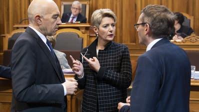Bundesrätin Karin Keller-Sutter. (Peter Klaunzer, KEYSTONE)