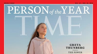 Greta Thunberg zur «Person of the Year» gekürt