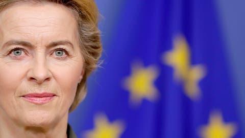 Ambitionierte Pläne: EU-Kommissionspräsidentin Ursula von der Leyen. (Bild: Keystone)