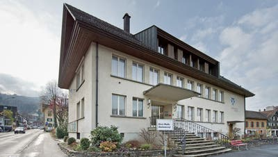 Das alte Gemeindehaus in Malters soll abgerissen werden. (Bild: Pius Amrein (Malters, 14. November 2015))