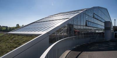 Das Tropenhaus in Wolhusen hat bald wieder eine Verwendung. (Nadia Schärli, 27. September 2017)
