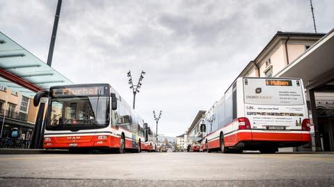 Am vergangenen Montag kam es auf einer Fahrt im Frauenfelder Stadtbus zu einer Auseinandersetzung. ((Bild: Andrea Stalder))