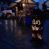 Der Aadorfer Weihnachtsmarkt zieht jeweils 4000 bis 5000 Besucherinnen und Besucher an. ((Bild: Olaf Kühne))