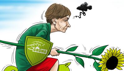 Die Karikatur zur Bundesratswahl. (Illustration: Silvan Wegmann)