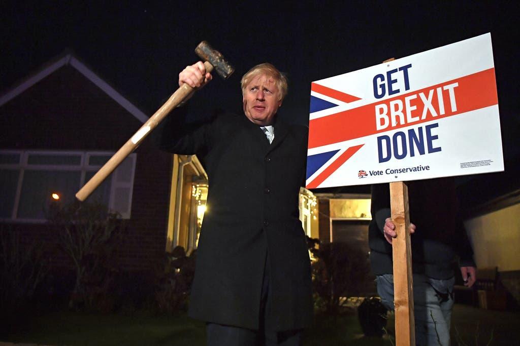 Präsentiert sich gerne als der Mann, der auch selber anpackt: Boris Johnson