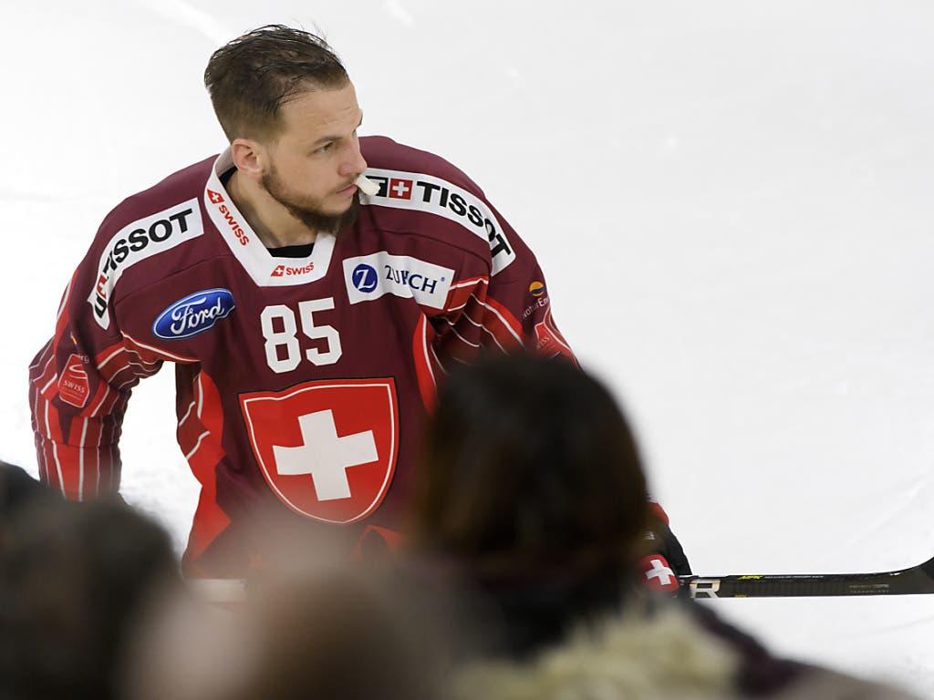 Sven Andrighetto spielt diese Saison für Awangard Omsk in der russischen KHL. Bevor er 2012 ins Ausland wechselte, wurde er mit dem EHC Visp NLB-Meister