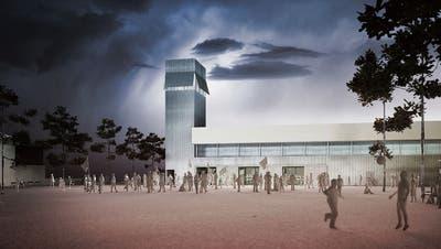 Turmbau zu Gossau: So soll die neue Fussballtribüne aussehen