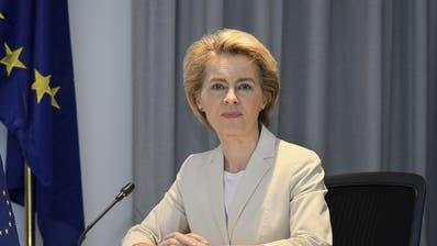 Ursula von der Leyen ist Präsidentin der Europäischen Kommission. (Keystone)