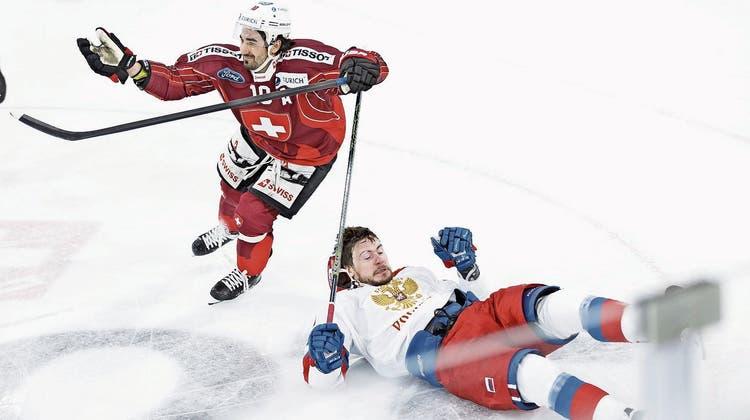Die Schweizer Eishockey-Nati spielt sich mit Gala zum Turniersieg