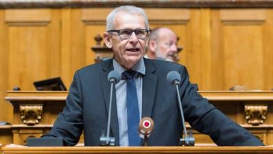 Seit November führt Leo Müller die CVP-Fraktion interimistisch. Nun will er die Aufgabe weiterführen. (Peter Klaunzer, KEYSTONE)