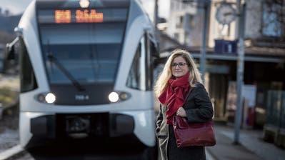 «Der Zug ist wohl abgefahren»: Maria Pappaärgert sich den ungenügenden Takt der S-Bahn