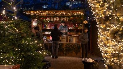 Der Neue: Marronistand an «Rudolfs Weihnacht» auf dem Inseli. (Boris Bürgisser)