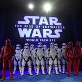 Grosses Staraufgebot bei «Star Wars»-Premiere in Hollywood