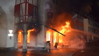 Brandstiftung im Willisauer Restaurant Untertor – Urteil ist rechtskräftig