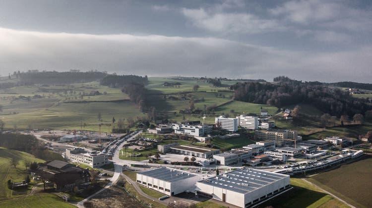 Der Campus Sursee wird als Sportanlage von kantonaler Bedeutung klassifiziert. (Bild: Pius Amrein (3. Dezember 2019))