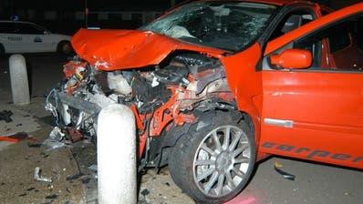 An Feiertagen markanter Anstieg der Unfälle unter Alkoholeinfluss