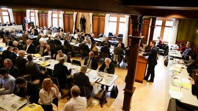 Der Thurgauer Grosse Rat tagt im Rathaus Weinfelden. (Donato Caspari)