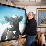 Die Bilder von Sergio Zurlo sind stark in Farbe und Ausdruck. (Ralph Ribi)