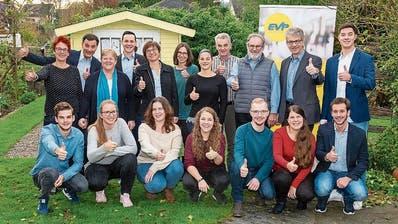 EVP Hinterthurgau präsentiert Stammliste und Liste mit Jungen